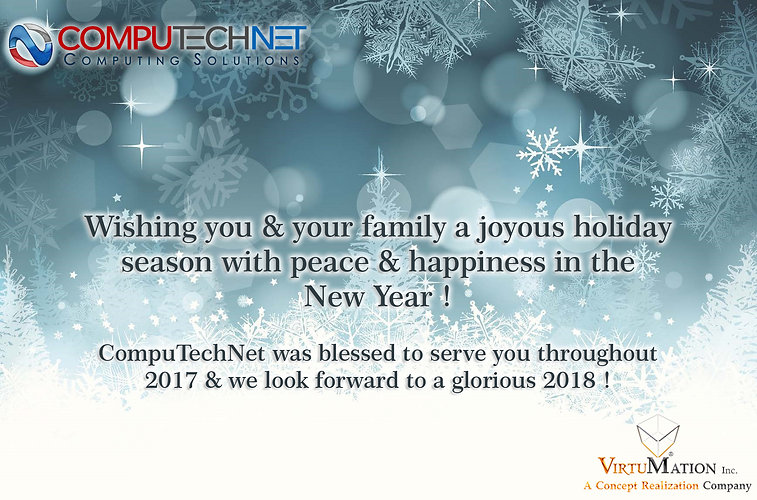 CompTechNet Seasons Greeting 2018