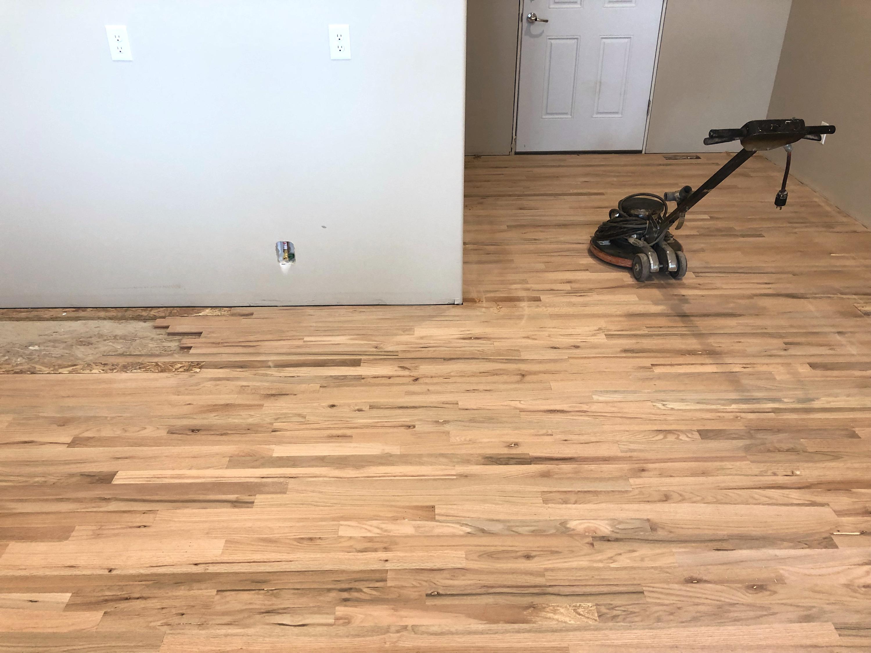 Sander on Oak Hardwood Floors