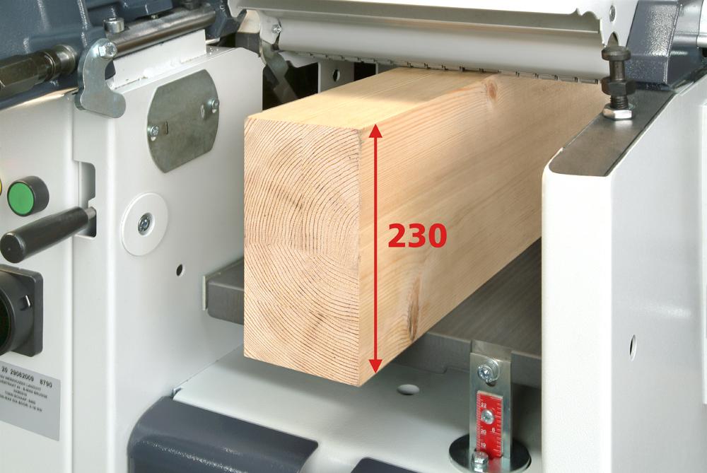 Planer thicknesser XSD310 1