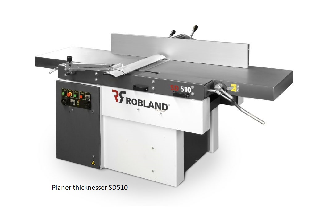 Planer thicknesser SD510