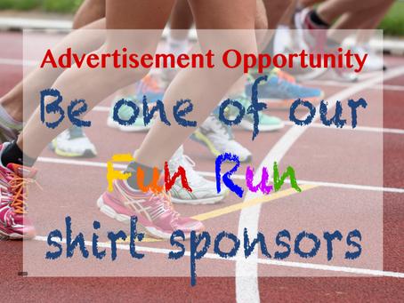 Seeking t-shirt sponsors...
