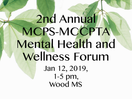 Mental Health and Wellness Forum