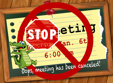 1st PTA meeting of 2020...