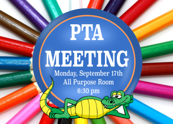 First PTA Meeting of the year!