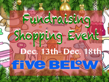 Fundraising while shopping...
