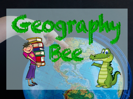 Annual Geography Bee...