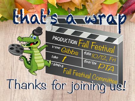 Fall Festival was a success!