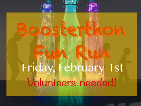 Our Fun Run is just around the corner...