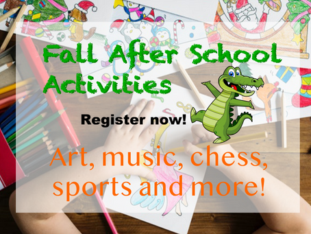 Need ideas for after school fun?
