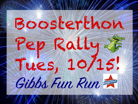 Boosterthon is here!