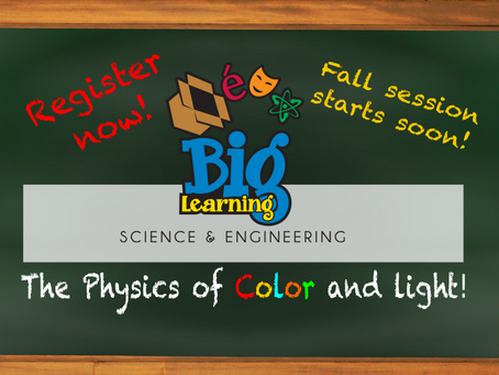 The Physics of Color and Light!