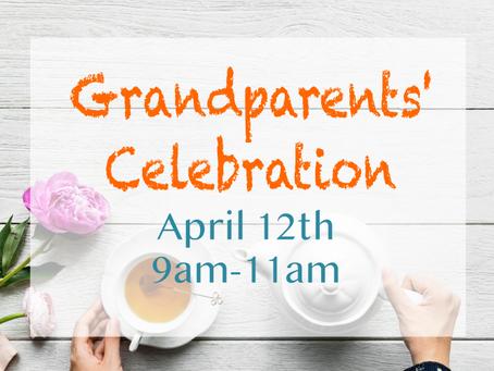 Dear Grandparents....