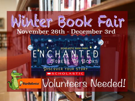 Volunteer for the Winter Book Fair!