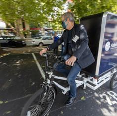 Urban Freight Lab Microhub - Coaster Bike