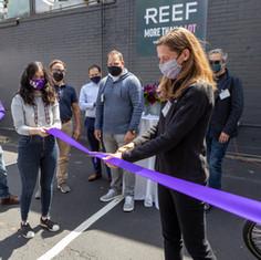 Urban Freight Lab Microhub Grand Opening