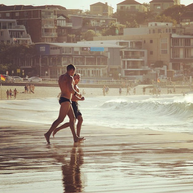 T H E  M U S C L E_————————————————_#spring🌼  #Bondi #Bronte #motivation #northbondi #fitfam #summer #home  #sunset #sun #sand #surf #travel
