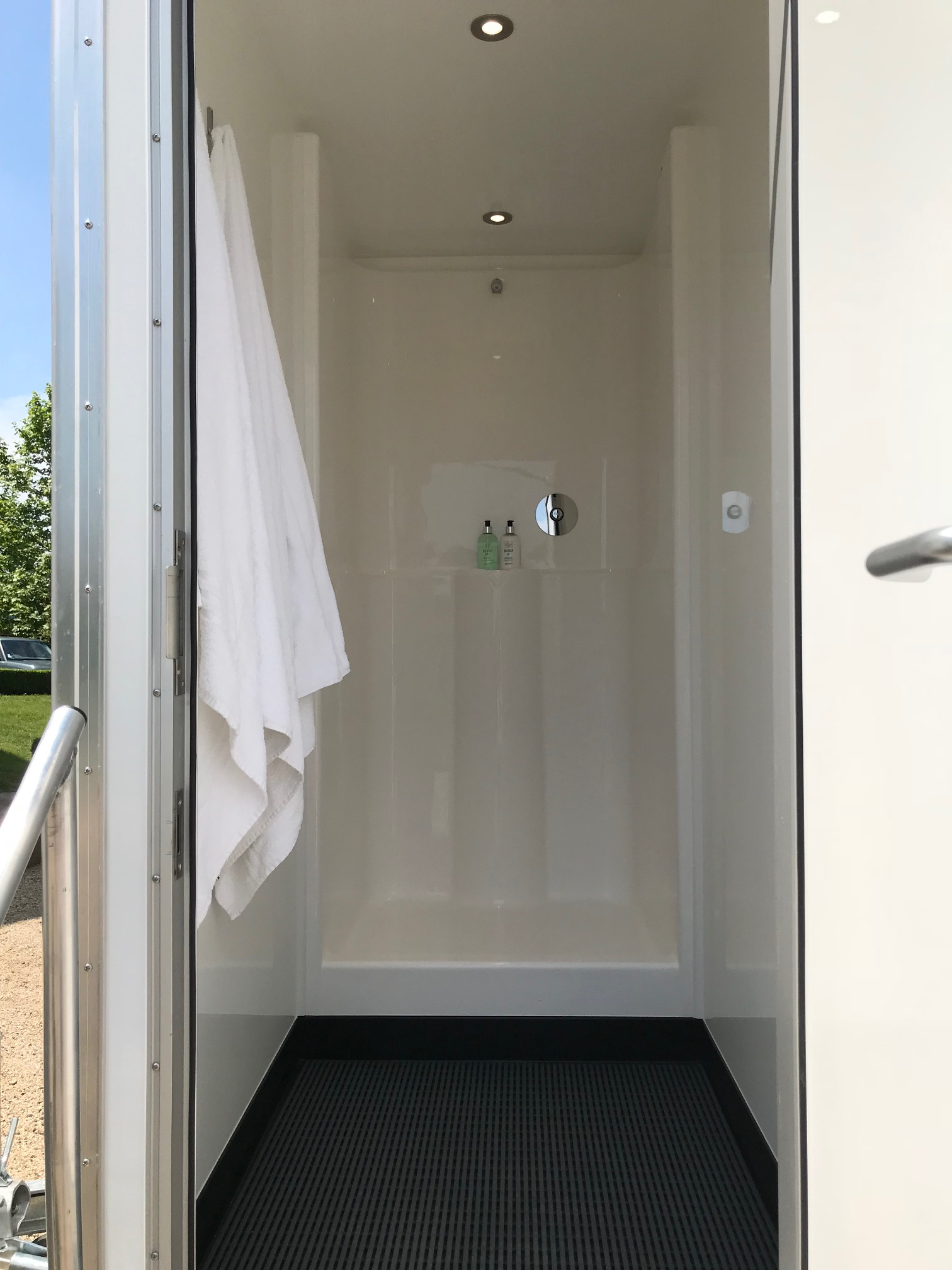 Luxury Shower Unit Inside