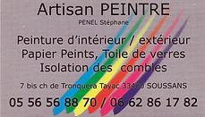 artisan peintre penel