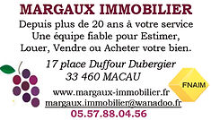 agence immobiliere margaux immobilier