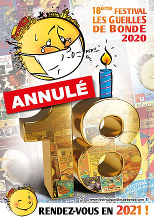 affiche annuation GDB 2020