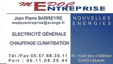 electricite chauffage climatisation medoc entreprise