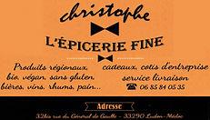 epicerie fine christophe