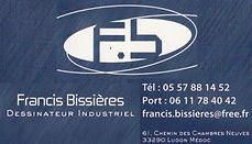 dessinateur industriel francis bissieres