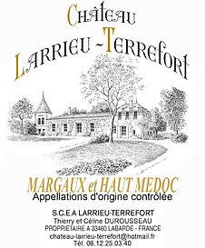 vins chateau larrieu terrefort
