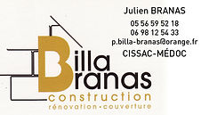 construction billa branas