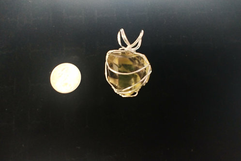 Large Citrine Necklace