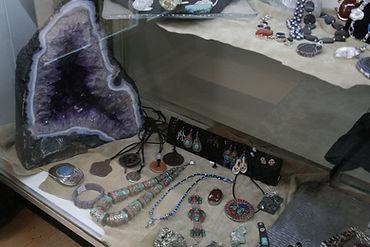 Tibetan Jewelry w/ Geode