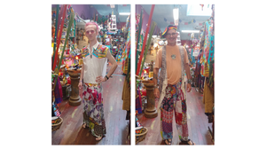 Patchwork Hippie Boho Pants