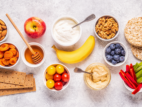How to Build a Hunger-Crushing Snack + 30 Easy Ideas