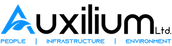 Auxilium Logo - people infrastructure environment