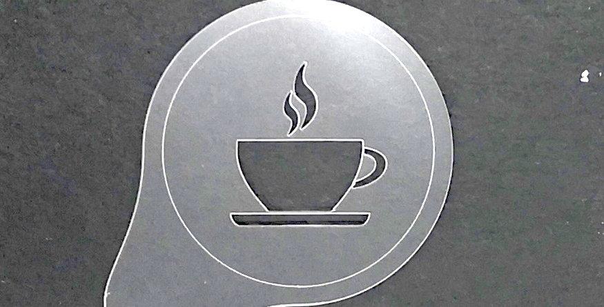 """Cappuccino Topper """"Kaffeetasse voll"""""""