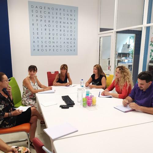 Le pôle Détecteur de Talents en réunion stratégique