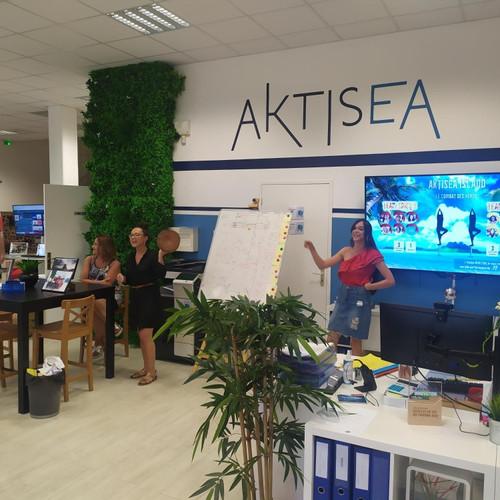 Le jeu des poteaux débarque chez Aktisea