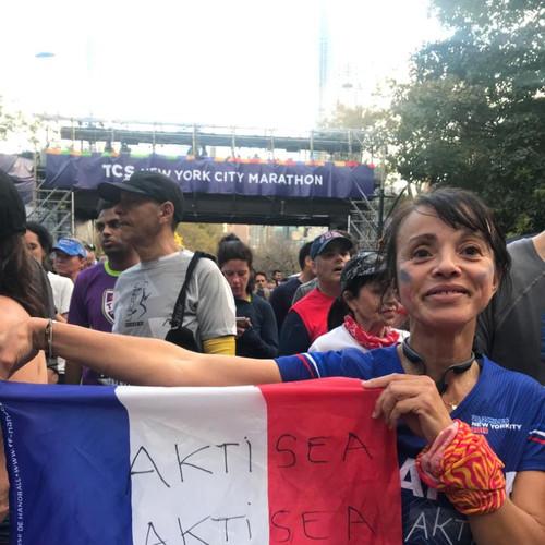 AKTISEA au marathon de New York