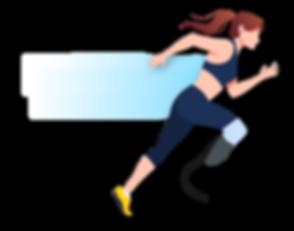 coureuse en situation de handicap