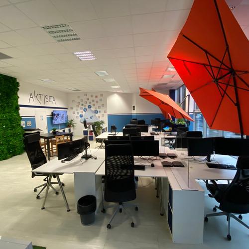 Nouvel aménagement de l'espace de travail