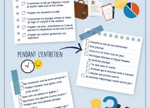 [CANDIDATS] La checklist pour réussir son entretien d'embauche