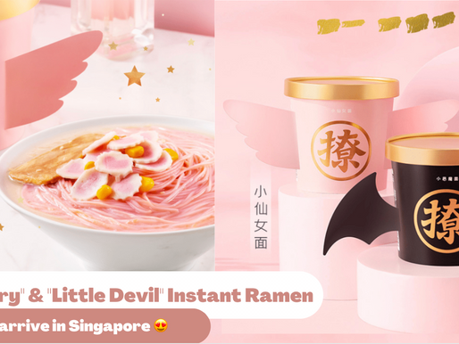 """Famous Just Free - Pink """"Little Fairy"""" & Black """"Little Devil"""" Are Now In Singapore"""