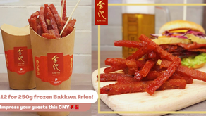 Eat Over The CNY Celebrations With The Bak Kwa Fries For Maximum Huat!