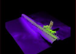 Sonar Image of USS Devilfish