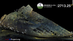 USS Grunion Bow Discovered