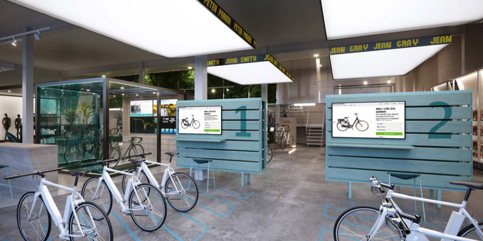 Allcycle / customisation stations