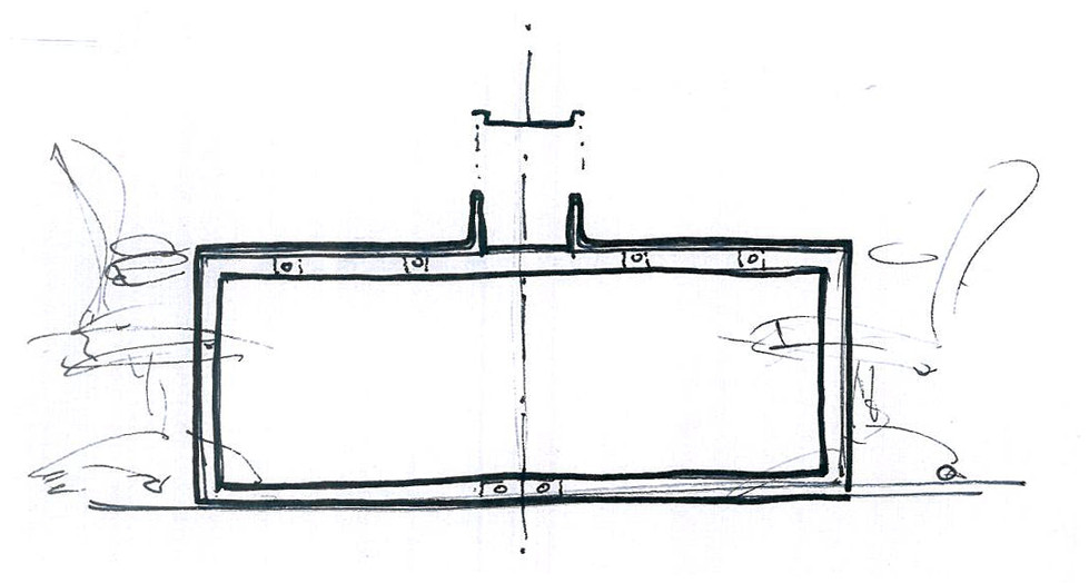 SA desk system / sketch
