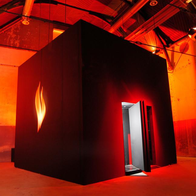 Burn box / '24-7 noche' / pavilion