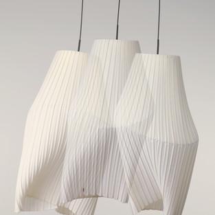 Pleat / pendulum lamp