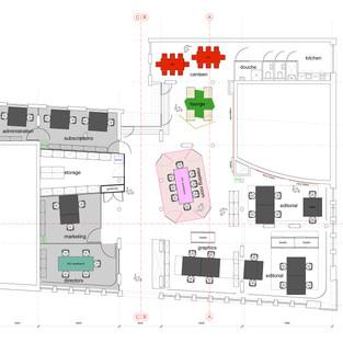 Frame Publishers / floor plan